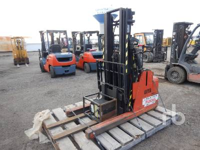 2006 BT RWE120 1200 Lb Walk Behind Electric Forklift