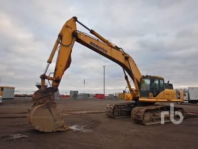 2007 KOMATSU PC400LC-7E0 Galeo Hydraulic Excavator
