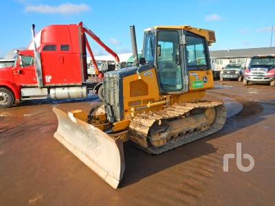 2011 JOHN DEERE 450J LGP Crawler Tractor