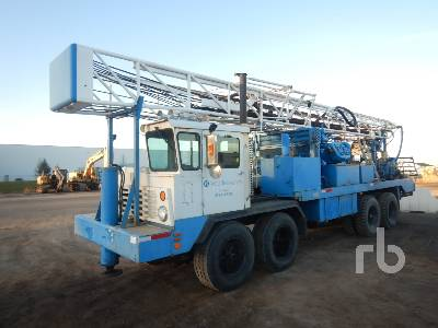 1975 GARDNER-DENVER 14W Truck Mounted 8x4 Water Well Drill Truck
