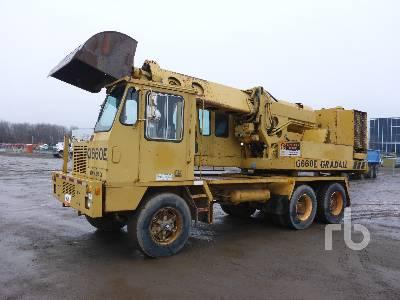 1990 GRADALL G660E Mobile Excavator