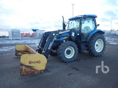 2003 NEW HOLLAND TS100A MFWD Tractor
