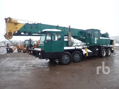 1985 GROVE 8440G 50000 Lb 8x4 Hydraulic Truck Crane