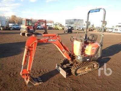 2013 KUBOTA K008-3 Mini Excavator (1 - 4.9 Tons)