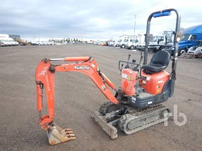 2014 KUBOTA K008-3 Mini Excavator (1 - 4.9 Tons)