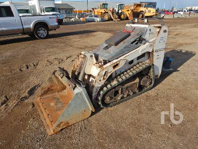 2014 BOBCAT MT55 Walk Behind Compact Track Loader