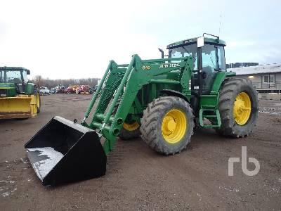 2000 JOHN DEERE 7710 MFWD Tractor