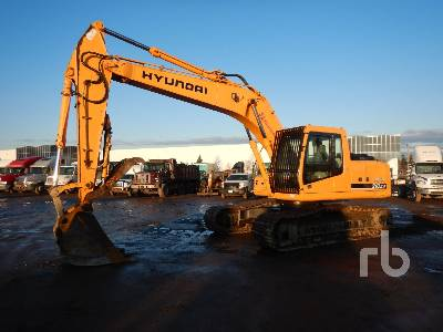 2007 HYUNDAI ROBEX 210LC-7 Hydraulic Excavator