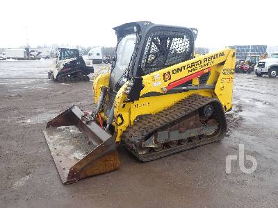 2014 WACKER NEUSON 2 Spd High Flow Compact Track Loader