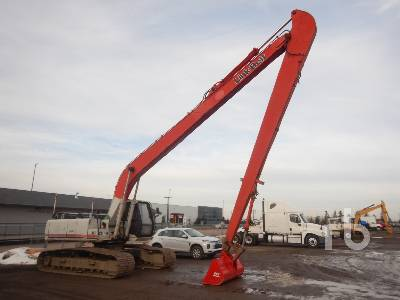 1999 LINK-BELT 3400QLF Long Reach Hydraulic Excavator