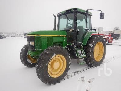 1998 JOHN DEERE 7210 MFWD Tractor