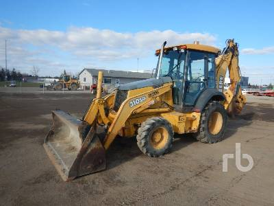 2003 JOHN DEERE 310SG 4x4 Loader Backhoe