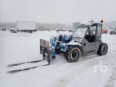 2014 GENIE GTH5519 5500 Lb 4x4x4 Telescopic Forklift