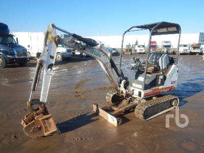 2011 BOBCAT 324M Mini Excavator (1 - 4.9 Tons)