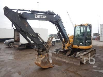 2010 JOHN DEERE 85D 8.5 Ton Midi Excavator (5 - 9.9 Tons)