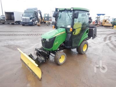 2018 JOHN DEERE 1025R Utility Tractor