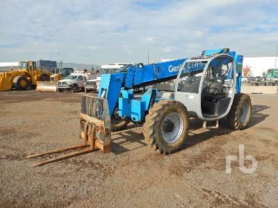 2008 GENIE GTH-844 8000 Lb 4x4x4 Telescopic Forklift