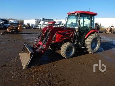 2011 MAHINDRA 5010 HST MFWD Utility Tractor