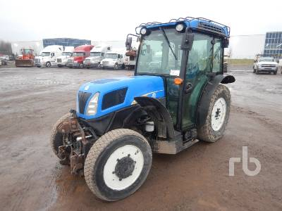 2012 NEW HOLLAND T4040 MFWD Tractor