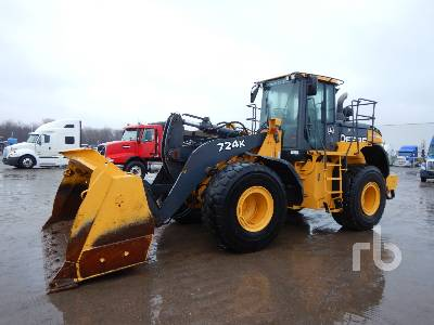 2015 JOHN DEERE 724K Wheel Loader