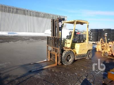 2001 HYSTER H50XM 4850 Lb Forklift