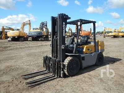 KOMATSU FC40ZT-6 7220 Lb Forklift