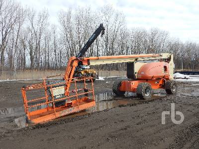 2008 JLG 800AJ 4x4 Articulated Boom Lift
