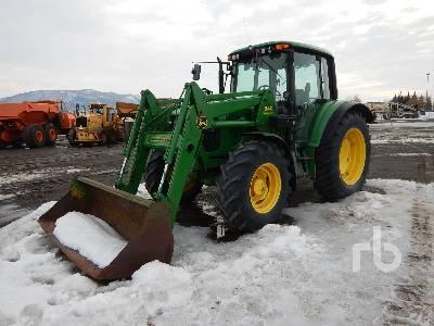 2002 JOHN DEERE 6420 MFWD Tractor