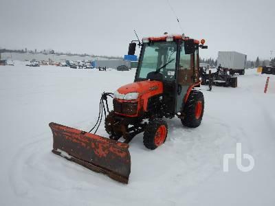 2013 KUBOTA B3000HDS 4WD Utility Tractor
