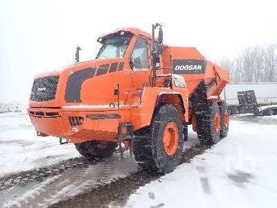 2013 DOOSAN D40 6x6 Articulated Dump Truck