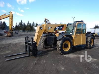 2011 CATERPILLAR TL943 9000 Lb 4x4x4 Telescopic Forklift