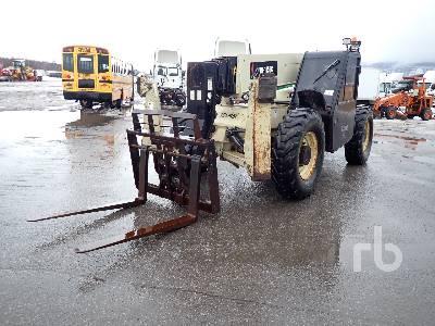 2006 INGERSOLL-RAND VR1056C 10000 Lb 4x4x4 Telescopic Forklift