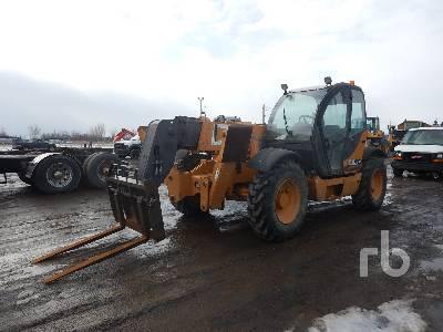 2009 CASE TX842 8000 Lb 4x4x4 Telescopic Forklift