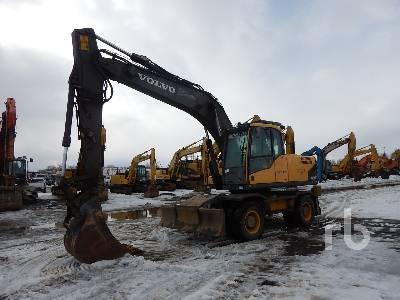 2008 VOLVO EW180C 4x4 Mobile Excavator