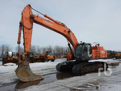 2006 HITACHI ZX450LC-3 Hydraulic Excavator