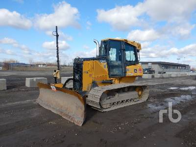 2014 JOHN DEERE 550K LGP Crawler Tractor