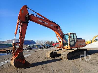 2008 DOOSAN DX255LC Hydraulic Excavator