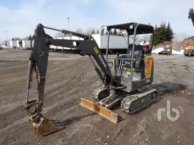2015 VOLVO EC20D Mini Excavator (1 - 4.9 Tons)