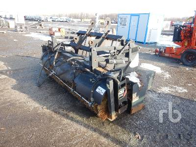 2013 CATERPILLAR BP25 Q/C 8 Ft 6 In. Hydraulic Broom Wheel Loader Attachment - Other