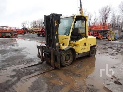 2001 HYSTER H110X 9650 Lb Forklift
