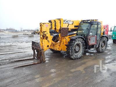 2013 JCB 512-56 12000 Lb 4x4x4 Telescopic Forklift