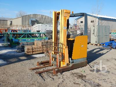 2001 JUNGHEINRICH ETV 114 3000 Lb Ride On Electric Forklift