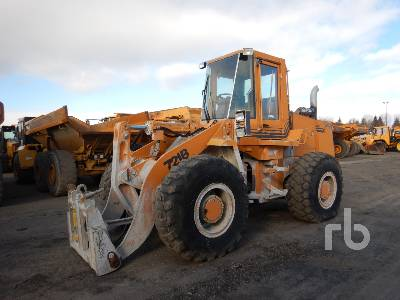 1994 CASE 721B Wheel Loader
