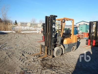 TCM FCG25F9 4600 Lb Forklift