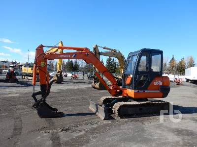 1996 HITACHI EX45-2 Mini Excavator (1 - 4.9 Tons)