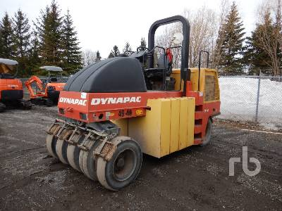 2010 DYNAPAC CP142 9 Wheel Pneumatic Roller
