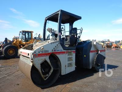 2008 BOMAG BW161AC-4 4 Wheel Combination Roller