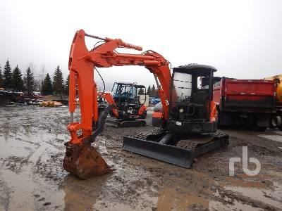 2001 HITACHI EX55UR-3 Midi Excavator (5 - 9.9 Tons)