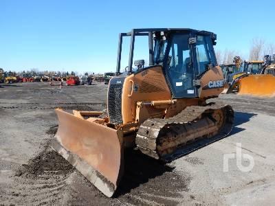 2010 CASE 650L Crawler Tractor