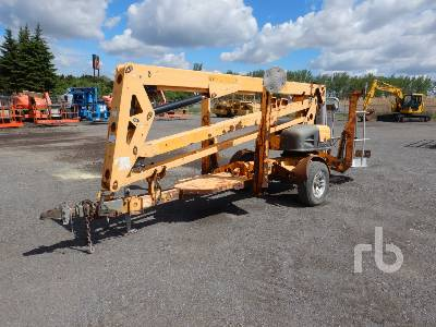 2010 HAULOTTE 4527A Electric Tow Behind Boom Lift